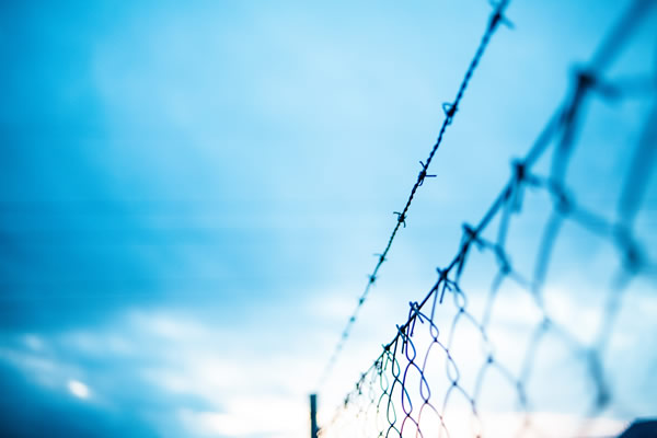 rural patrols barbed wire fence